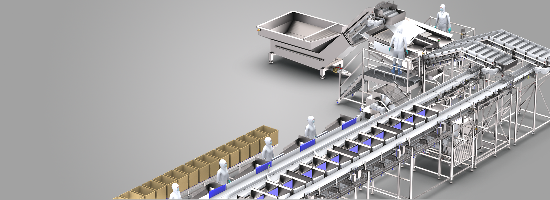 Integrated food processing solutions for fish